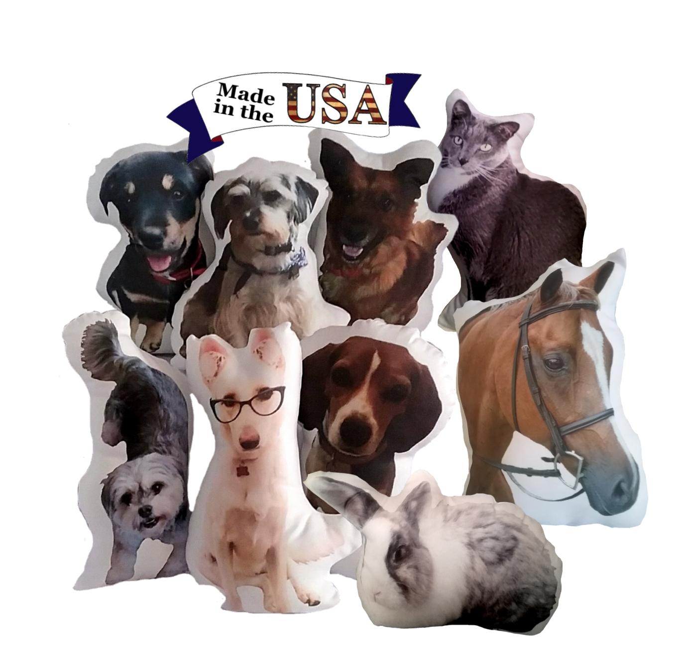 886479d63796c Huggable Personalized Pet Photo Gift Pillow
