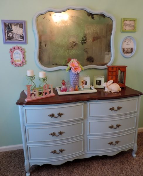 Shabby Chic Bedroom Upcycled Dresser
