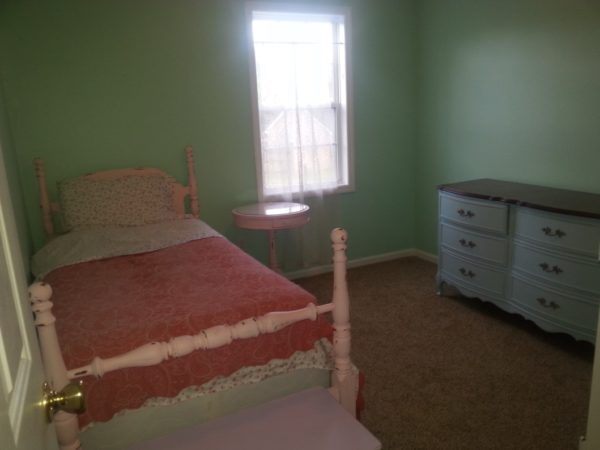 Shabby Chic Bedroom Makeover Before