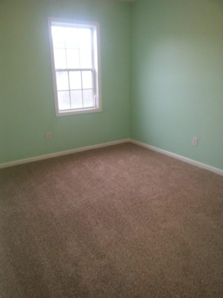 New Carpeting and New Paint Bedroom Makeover
