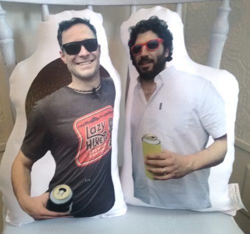 Custom Person Shaped Photo Pillow