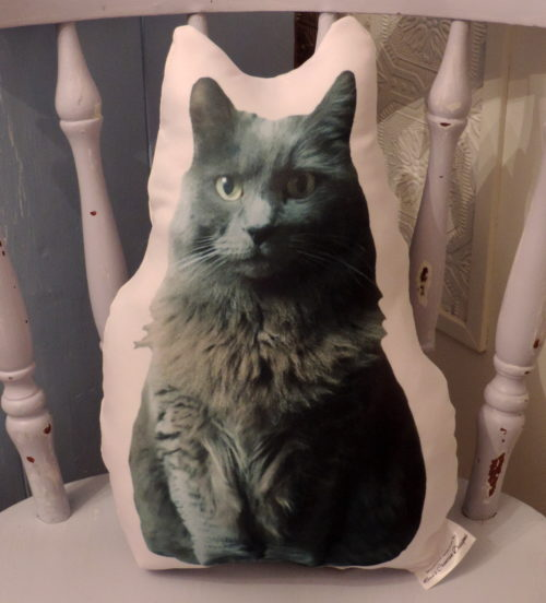 Personalized Cat Photo Pillow