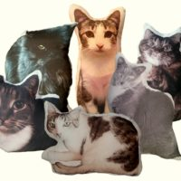 Personalized Cat Photo Pet Pillow