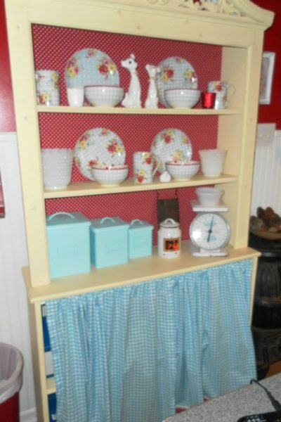 Yellow Country Hutch