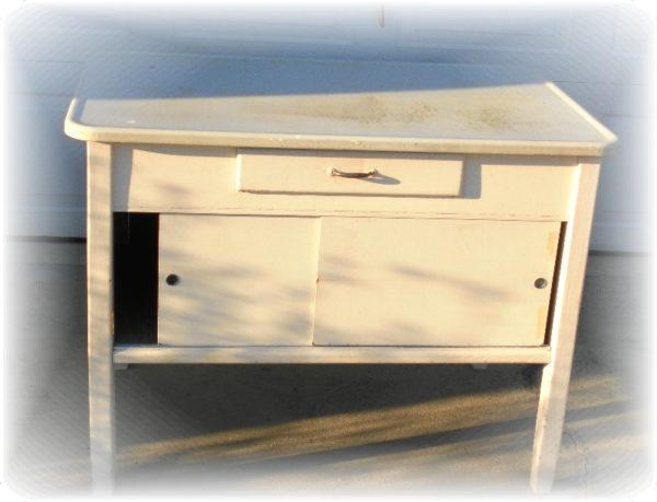 Thrift Store Hoosier Cabinet