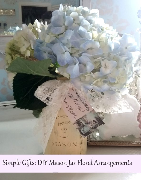 Diy Mason Jar Floral Arrangements Simple Gift Ideas And Instructions