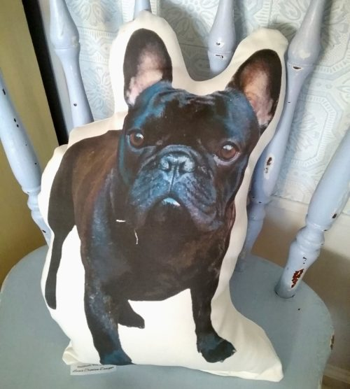 Custom Dog Photo Pillow