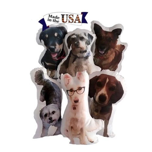 Personalized Dog Photo Pillow Made In The USA