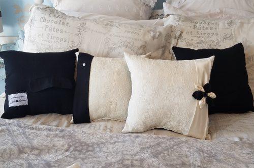 Custom Keepsake Memory Pillows Made From Wedding Dress and Suit
