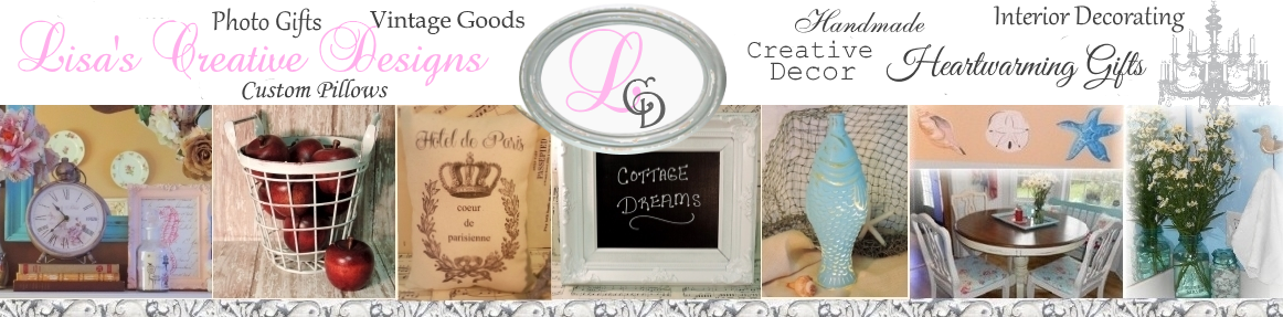 Lisa's Creative Designs banner