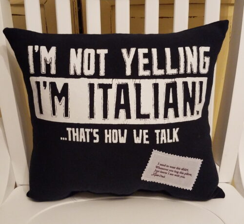 T-shirt memory Pillow With Poem Patch 2