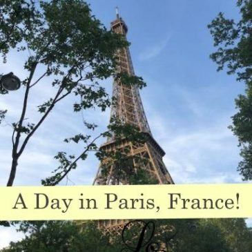 Pretty Places to Visit: A Day In Paris France!