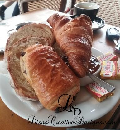 Delicious Pastry Breakfast In Paris France