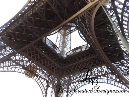 Underneath The Eiffel Tower Paris France 2018