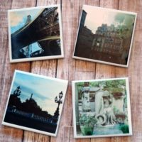 Paris France Photo Coasters