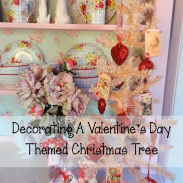 Decorating A Valentine's Day Themed Christmas Tree