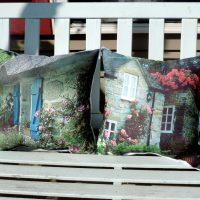 English Cottage Photo Throw Pillows