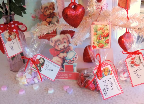 Vintage Inspired Valentine's Day Goodies