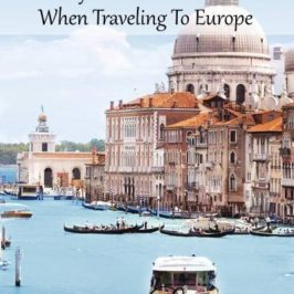 Pretty Places To Visit When Traveling To Europe