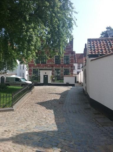 Beguinage Kortrijk, Belgium