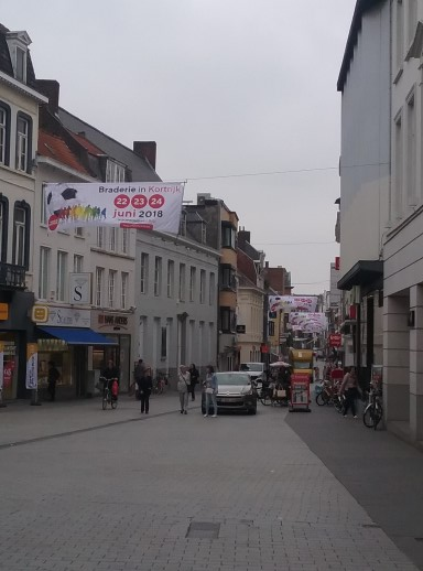 Shopping In Kortrijk, Begium