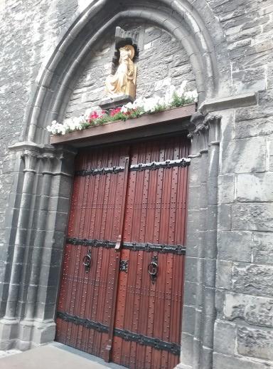 St. Martin's Gothic Church Kortrijk, Belgium