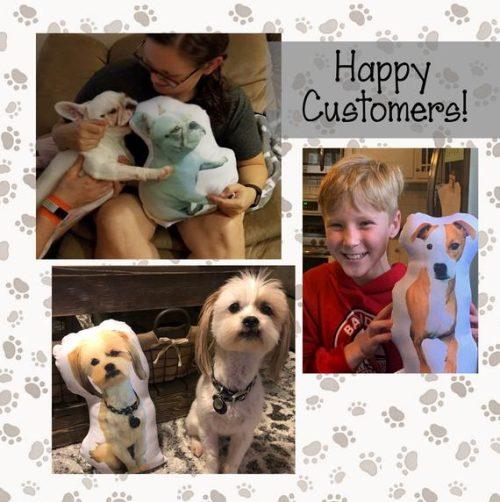 Happy Pet Pillow Customers