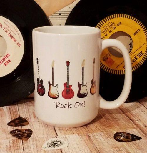 Personalized Electric Guitar Mug