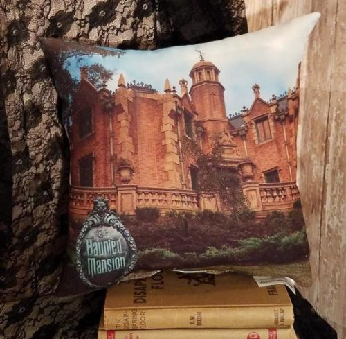 Two Sided Disney's Haunted Mansion Photo Pillow, Haunted Mansion Decor