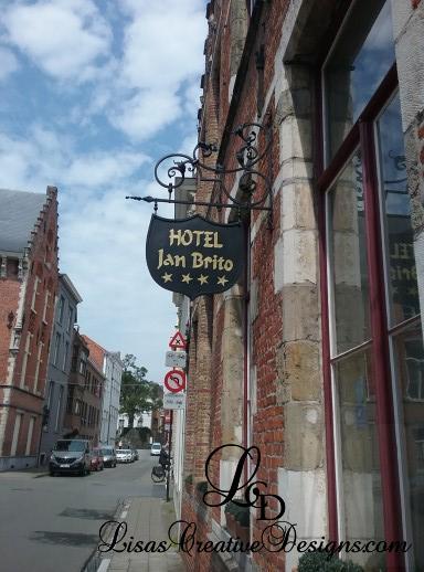 Hotel Jan Brito Bruges Belgium