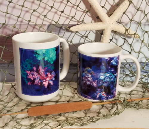 Personalized Sea Coral Coffee Mug Cup