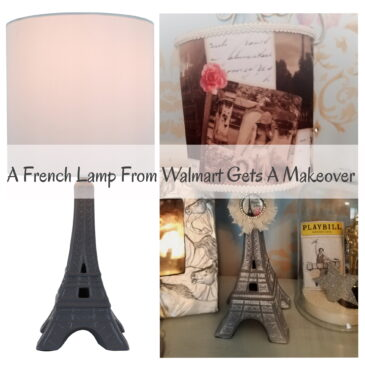 A Walmart Eiffel Tower Lamp Gets A French Makeover