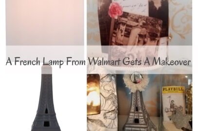 A French Lamp From Walmart Gets a Makeover