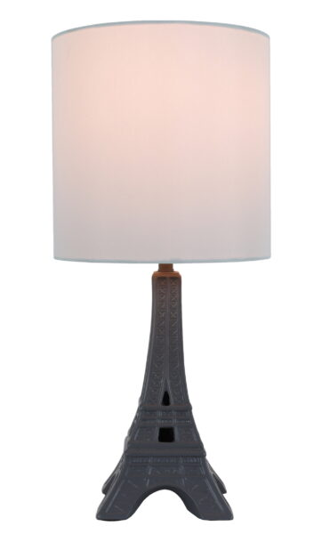 An Eiffel Tower French Lamp From Walmart