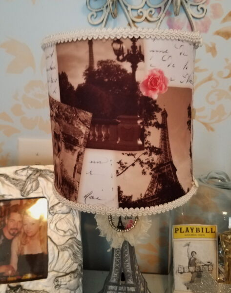 French Eiffel Tower Lampshade