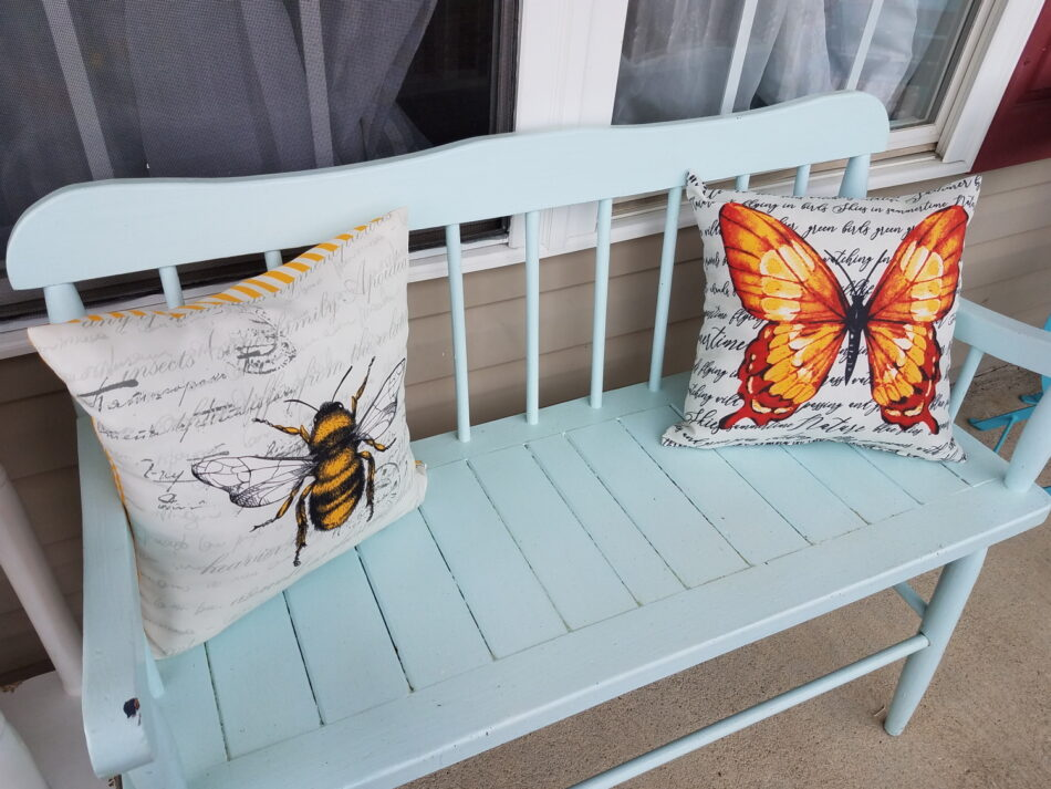 Porch Refresh Country Bench