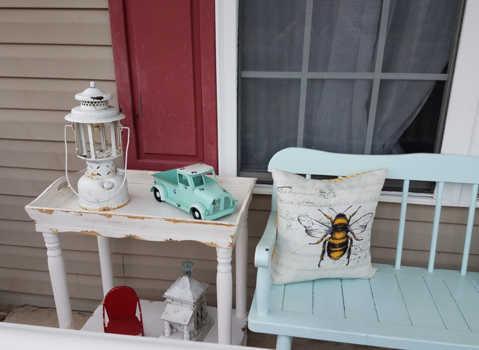 Country Porch Refresh | Seating Area