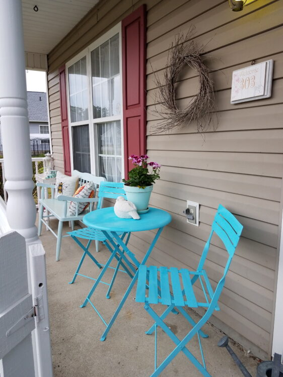 Country Porch Refresh
