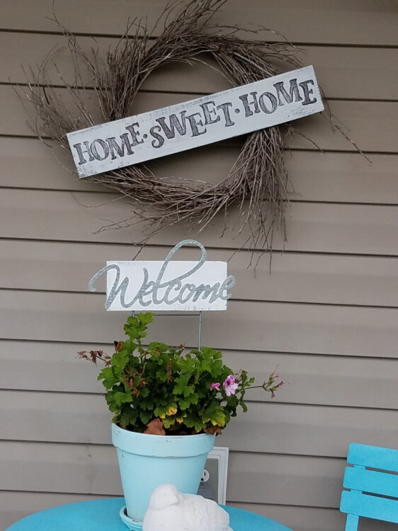 Welcome Porch Signs